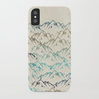 mountains iPhone & iPod Cases featuring Mountains  by Rskinner1122