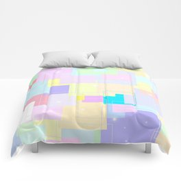 BLOCKS - PASTEL Comforters
