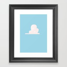 Andy's Cloud Framed Art Print