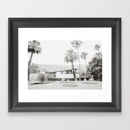 Palm Springs I Framed Art Print