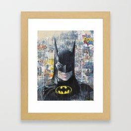 SUPERHERO #BM Framed Art Print
