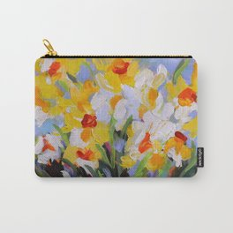Daffodil Tangle Carry-All Pouch