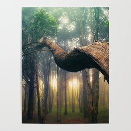Dancer in the Forest Poster