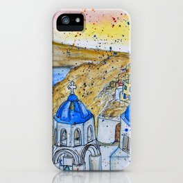 Santorini, Greece iPhone Case