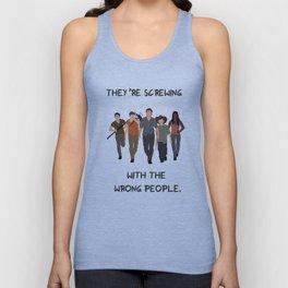 The Walking Dead - Carl, Rick, Michonne, Glenn, Daryl Unisex Tank Top