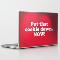 cookie Laptop & iPad Skins featuring cookie by MelleNora
