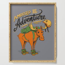 Amoosed by Adventure Serving Tray