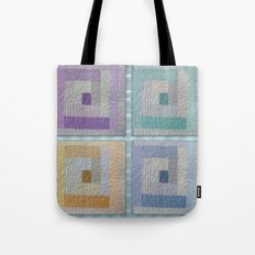 Country Quilt Tote Bag