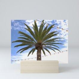 Palm Beaches Mini Art Print