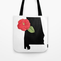 Alabama Silhouette Tote Bag
