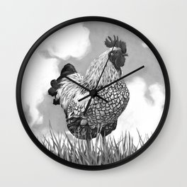 Welcome to the Farm Wall Clock