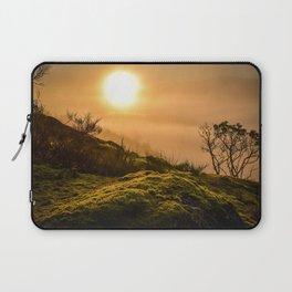 Foggy Sunrise Laptop Sleeve