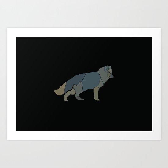 Magic Fox Art Print