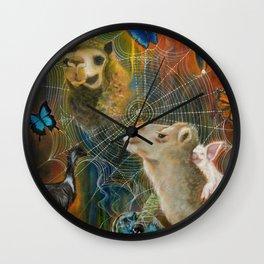SACRED JOURNEY  Wall Clock