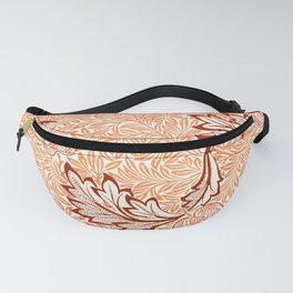19th century William Morris Apple pattern for home, office, beach house decoration. Fanny Pack