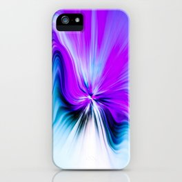 Abstract Moving Butterfly Design iPhone Case