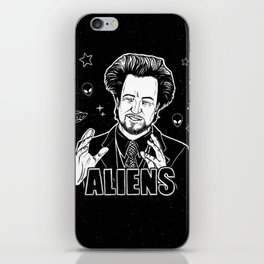 Aliens Guy (Giorgio Tsoukalos) iPhone Skin