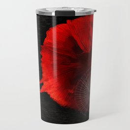 Diving in Red Travel Mug