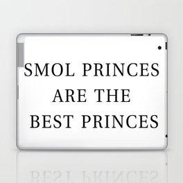 Smol Bookish YA Princes White Laptop & iPad Skin