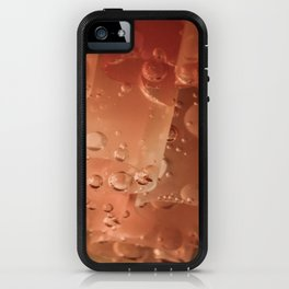 Drops and straws iPhone Case