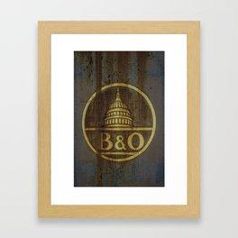 B&O Framed Art Print
