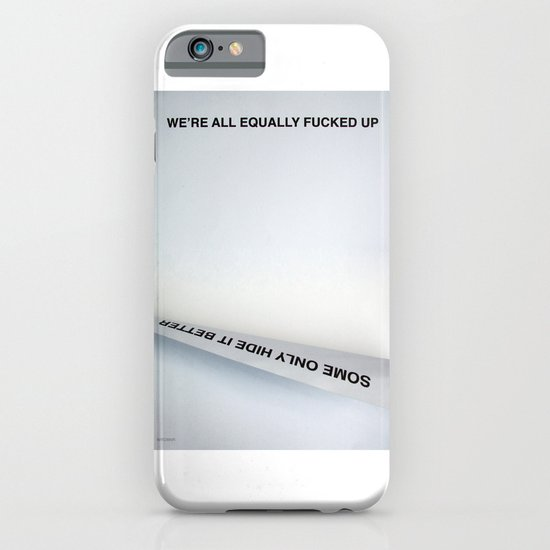 Equally (Take Two) iPhone & iPod Case
