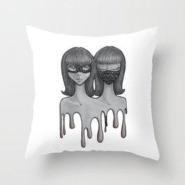 Reality Throw Pillow