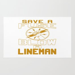 Blow a Lineman Rug