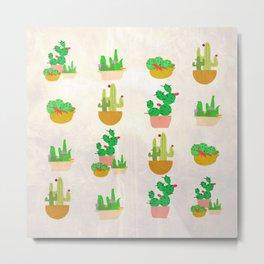 Cacti Festival Metal Print
