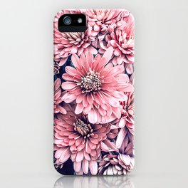 Flower Photography Pink Blossoms Spring Easter Pattern iPhone Case