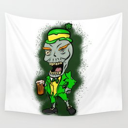 St Paddy's Zombie Wall Tapestry