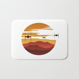 To the sunset Bath Mat