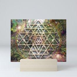 sri yantra Mini Art Print
