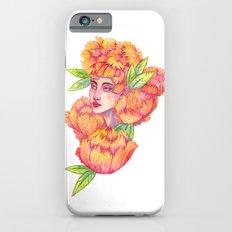 Peonies 1/2 iPhone 6s Slim Case