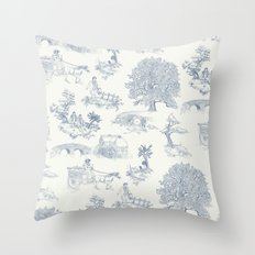 Shire Toile Throw Pillow