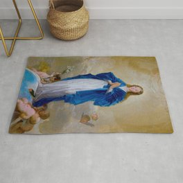 """Francisco Goya """"The Immaculate Conception"""" Rug"""