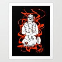STUPID SOLDIER Art Print