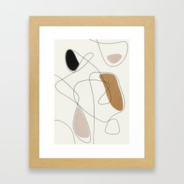 Thin Flow II Framed Art Print