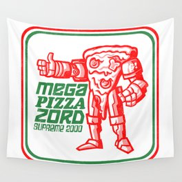 MEGA PIZZA ZORD SUPREME 2000 Wall Tapestry