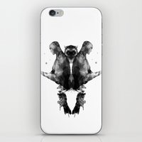 watchmen iPhone & iPod Skins featuring Watchmen by Laura O'Connor