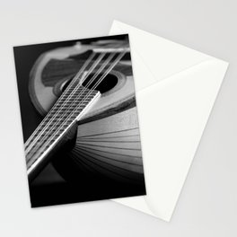 Mandolin Portrait 3 Stationery Cards