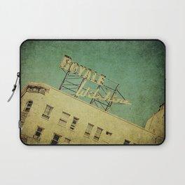 1926 Wilshire Royale Art Deco Vintage Sign Laptop Sleeve
