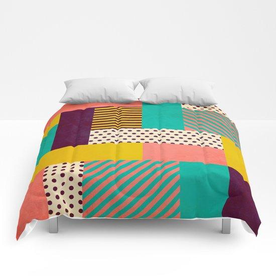 Geometric Love Comforters