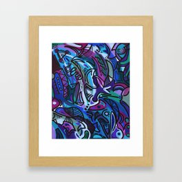 Graffiti Abstract #1 Framed Art Print