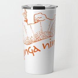 Fire Up Your Ninja Ginga!  Travel Mug