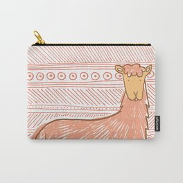 Llamas are Friends in Peru Carry-All Pouch