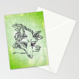NV: Keer: green Stationery Cards