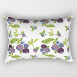 Sweet Blueberry Rectangular Pillow