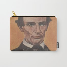 Vintage Portrait of Abraham Lincoln (1895) Carry-All Pouch