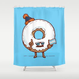 The Chicago Donut Shower Curtain
